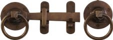 M Marcus Solid Bronze Rustic RBL541 Gate Latch Real Bronze